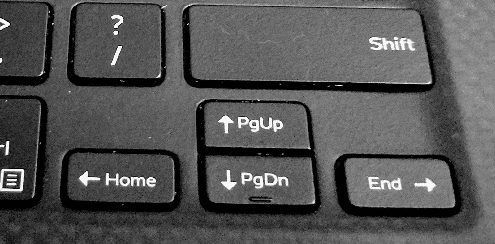 Dell XPS keyboard