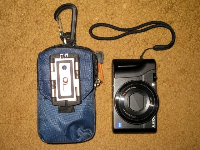Carry pouch contents.