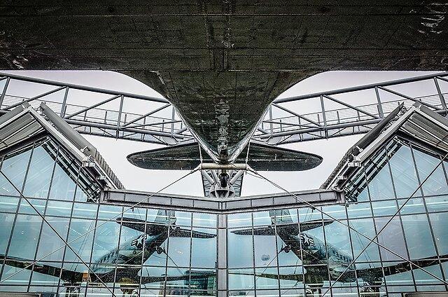 Share Aviation - Raisin bomber on the roof of Technikmuseum Berlin