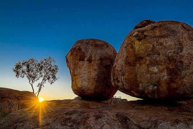 Karlu Karlu (Devils Marbles, NT, Australia) - Fantastic sight at dawn in the Northern Territory.  Devils Marbles Stuart Highway by Pete Tachauer, on Flickr  Devils Marbles Stuart Highway by Pete Tachauer, on Flickr  Devils Marbles Stuart Highway by Pete Tachauer, on Flickr