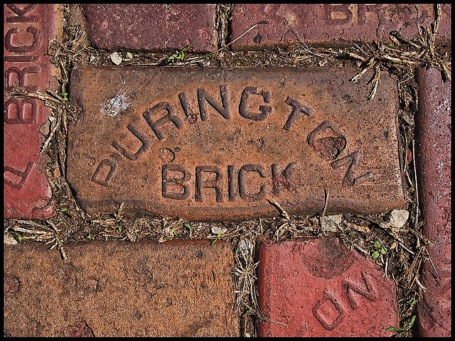 Bricks - I recently made a trip back to my hometown to deal with a family matter and while I was there I took the camera along on my morning walks around town. Galesburg was founded in 1836 and has some wonderful old buildings and architecture. There was a brick factory there, which was closed even by...
