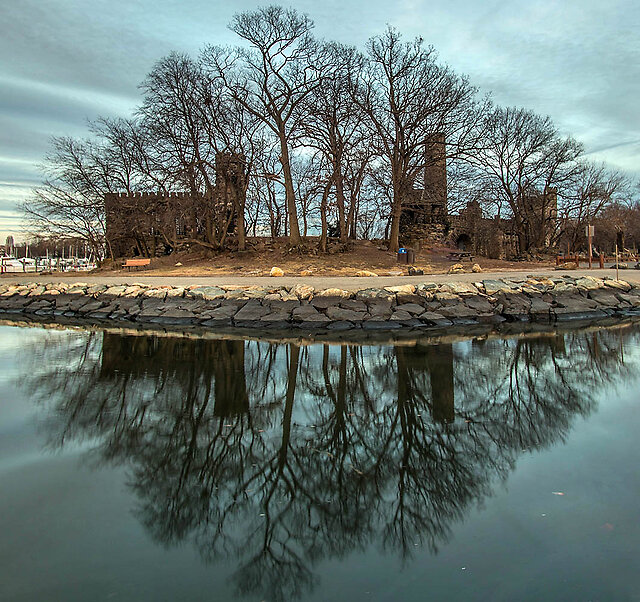"Show ""Reflections"" - A few winter light reflections from my dog walks:"