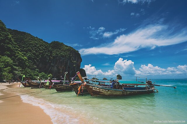 Vacation Photos from Krabi Province, Thailand! - I recently returned from a trip to Krabi Province in southern Thailand. I brought the family and it was a great experience. Shot most of everything with the Sony A7 III. Check it out!  The full set can be viewed here: https://flic.kr/s/aHsmFwHkkG  1. Water boat taxis of Ao Nang  2019 Summer...