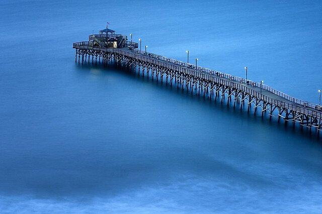Pier 4 minute exposure