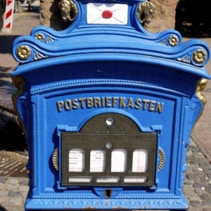 german postbox