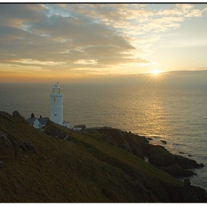 sunrise at Start Point 22nd January 2011