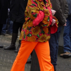 Lady in Orange