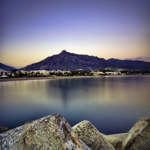 Puerto Banus after Sunset