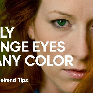 Easily Change EYE COLOR with Luminar | 4 Minute Tutorial