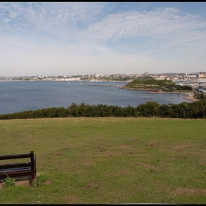 Plymouth Hoe from Jennycliff