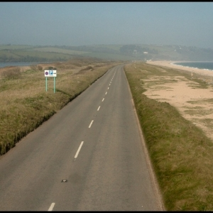 A379 Kingsbridge to Dartmouth road along Slapton line