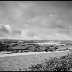 Looking SW towards Salcombe from above my home village