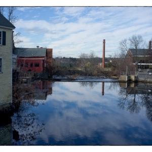 SIJ Day 1 - River Reflections, Exeter, New Hampshire