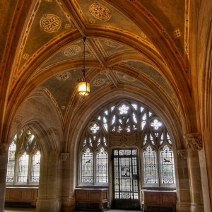 SIJ - Day 7: Sterling Memorial Library, Yale University, Detail - Cloisters