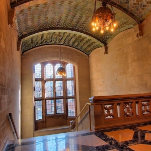 SIJ - Day 9:  Grand Staircase, Linsly-Chittenden Hall, Yale University