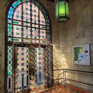 SIJ - Day 16: Battell Chapel Handicap Entrance