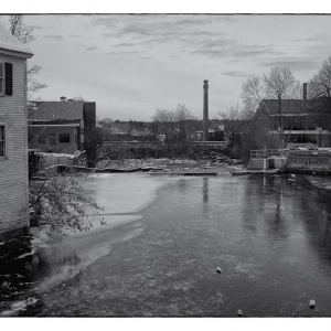 SIJ Day 16 - Icy River Dam, Exeter, NH