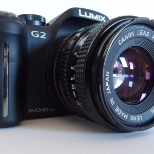 G2 plus FD-mount 50/1.8