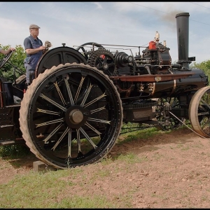 Fowler BB1 compound ploughing engine