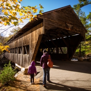 13 October - Albany Covered Bridge, NH
