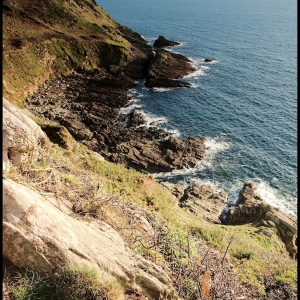 Towards Gammon Head, south Devon, UK
