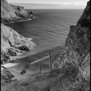 Below Gammon Head looking south towards Prawle Point