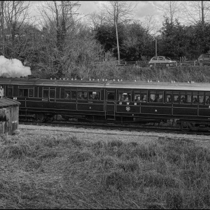 Steam Railcar No 93