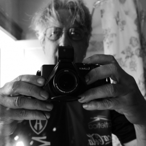 Self-portrait with LX-7