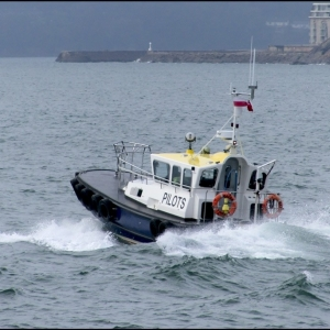 Outbound pilot boat