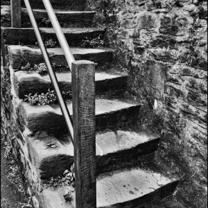 Well worn steps