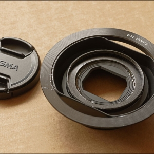 Modifications to Sigma DP Merrill lens hoods