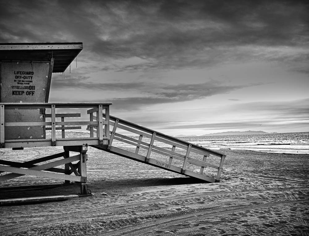 Beach_at_Dusk_BW-1