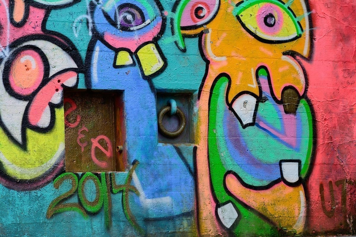 Colorful Graffiti - Fort Wetherill