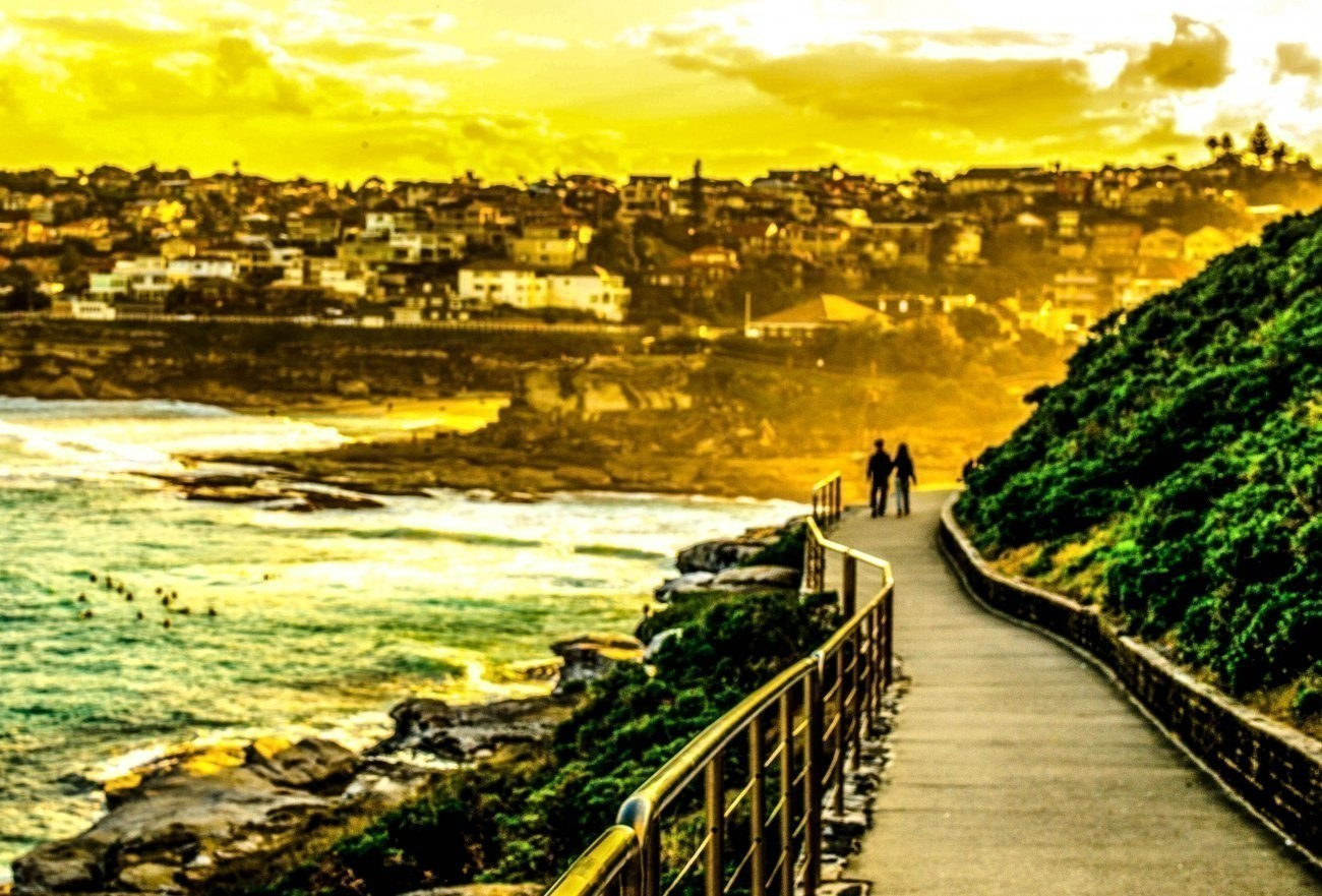 Late Afternoon At Bondi 2 (1 Of 1)