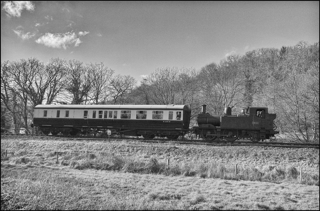 Returning towards Buckfastleigh