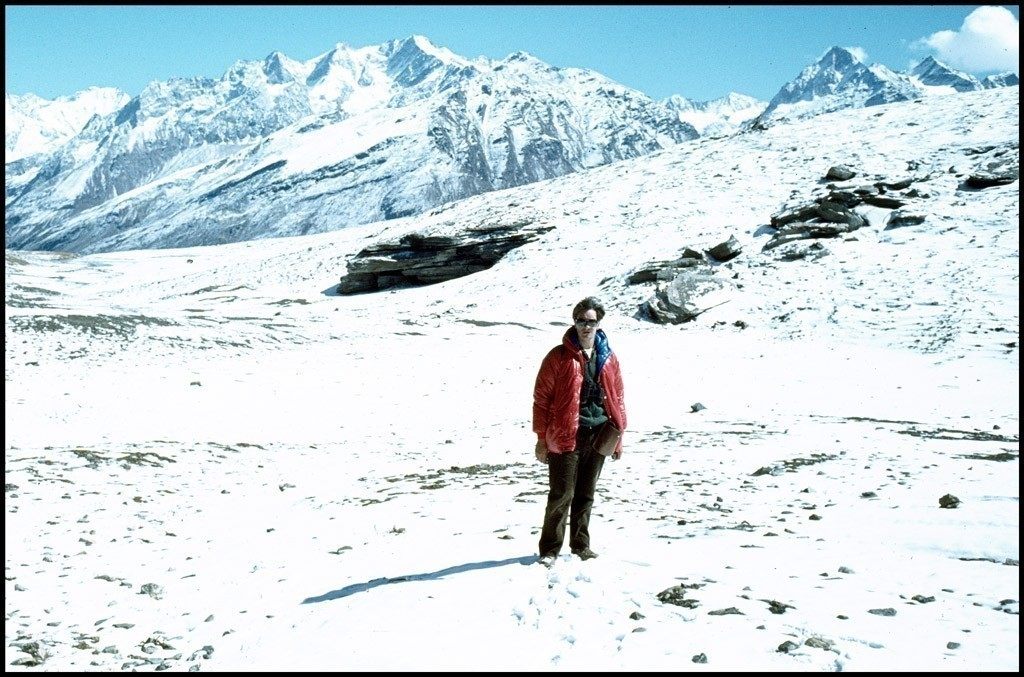 Self portrait Rohtang Pass