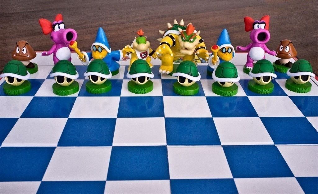 SIJ25 - Super Mario chess set.