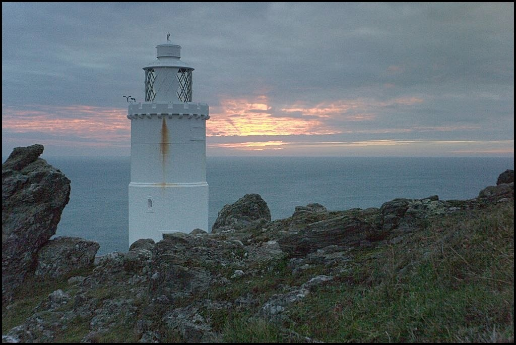 sunrise at Start Point on 25th January 2011